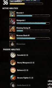 Abilities for great weapons