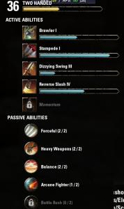 Zweihandwaffenfähigkeiten